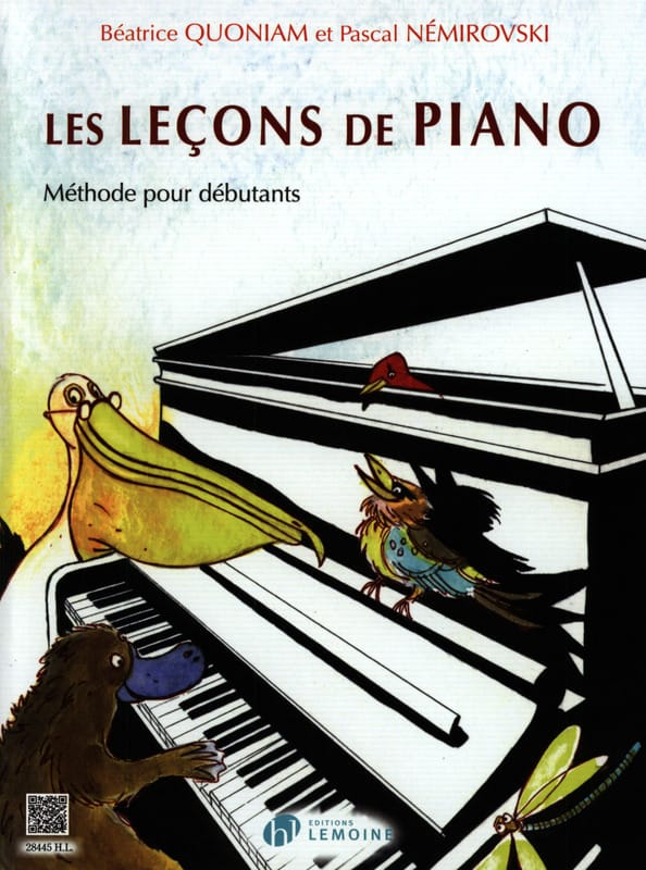 QUONIAM - NEMIROVSKI - Piano Lessons - Partition - di-arezzo.co.uk