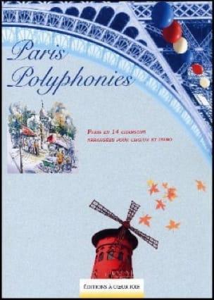 Paris Polyphonies - Partition - Chœur - laflutedepan.com