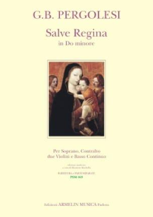 Giovanni Battista Pergolese - Salve Regina en Sol Menor - Partition - di-arezzo.es