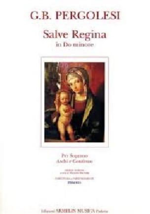 Giovanni Battista Pergolese - Salve Regina In C Minor - Partition - di-arezzo.es