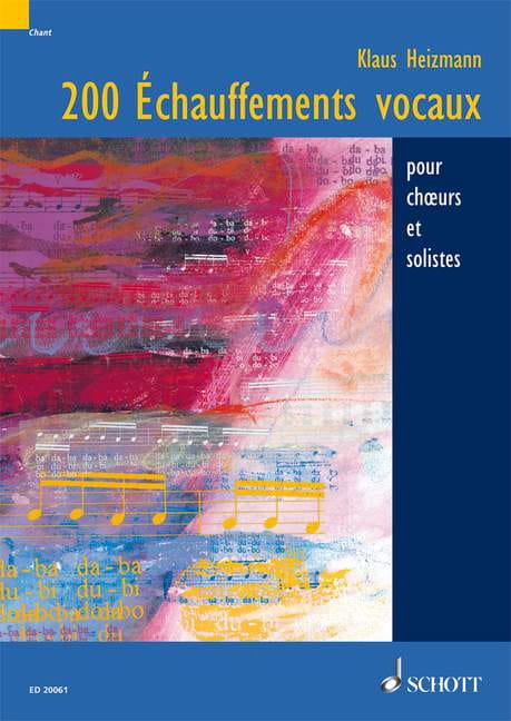 Klaus Heizmann - 200 Echauffements Vocaux - Livre - di-arezzo.fr