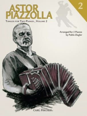 Tangos For 2 Pianos Volume 2 - Astor Piazzolla - laflutedepan.com