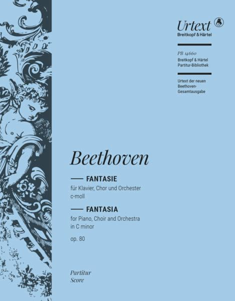 BEETHOVEN - Chorfantasia Opus 80 - Partition - di-arezzo.jp