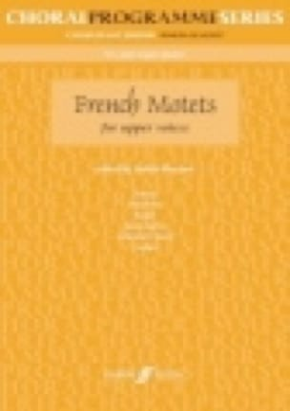French Motets - Partition - Chœur - laflutedepan.com