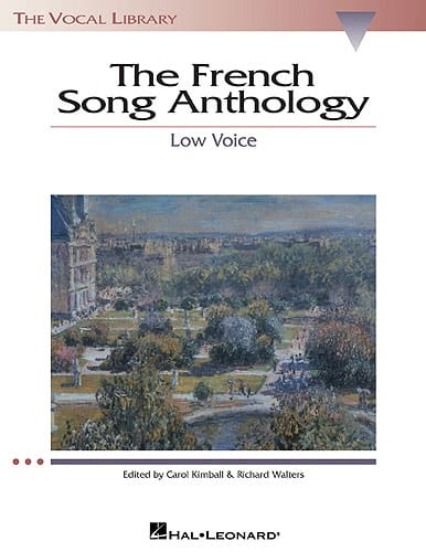 - The French Song Anthology. Deep voice - Partition - di-arezzo.com