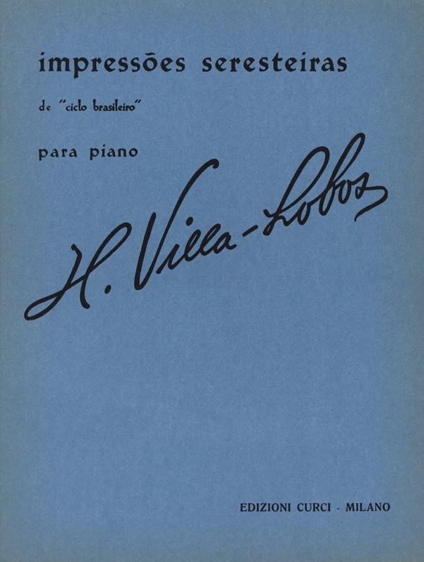 Impressoes Seresteiras - VILLA-LOBOS - Partition - laflutedepan.com