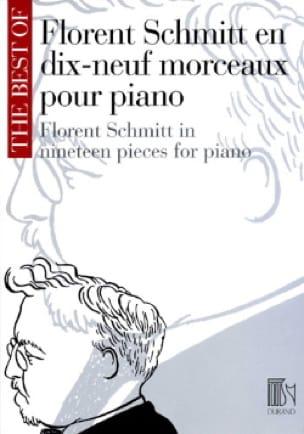 Florent Schmitt - 19 Pieces for piano - Partition - di-arezzo.co.uk