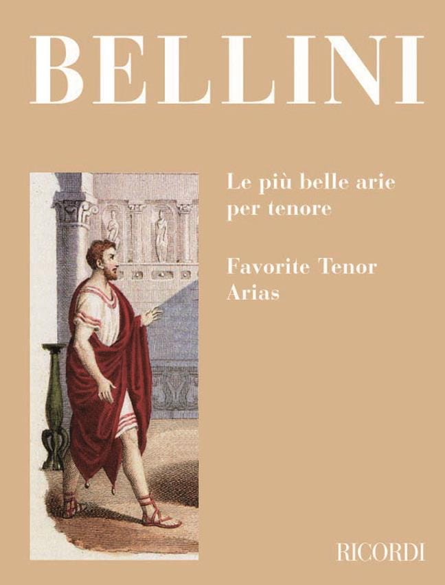 Vincenzo Bellini - The Piu Belle Arie Per Tenore - Partition - di-arezzo.co.uk