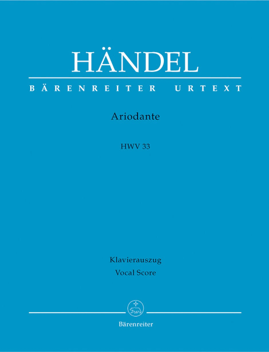 HAENDEL - Ariodante. HWV 33 - Partition - di-arezzo.co.uk