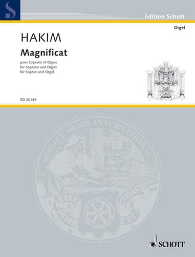 Magnificat - Naji Hakim - Partition - Mélodies - laflutedepan.com
