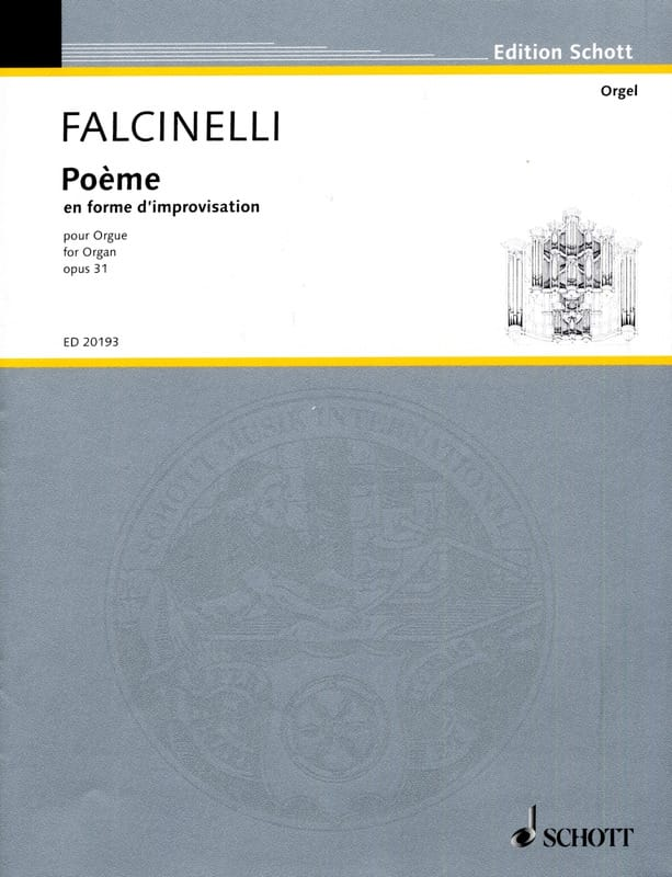Poème En Forme D'improvisation Op. 31 - laflutedepan.com