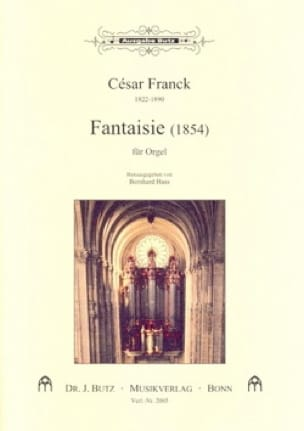Fantaisie - FRANCK - Partition - Orgue - laflutedepan.com