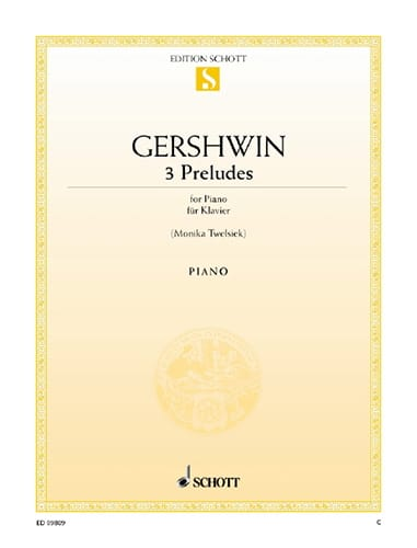 Georges Gershwin - 3 Preludes - Partition - di-arezzo.co.uk