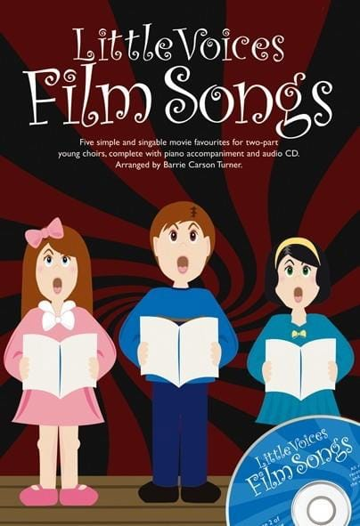 Little Voices Film Songs - Partition - Chœur - laflutedepan.com