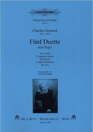 5 Duette Mit Orgel - GOUNOD - Partition - Duos - laflutedepan.com