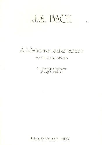 Schafe Können Sicher Weiden Bwv 208 - BACH - laflutedepan.com