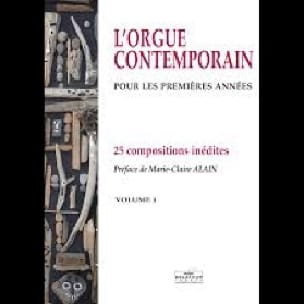 L'orgue Contemporain Volume 1 - Partition - laflutedepan.com