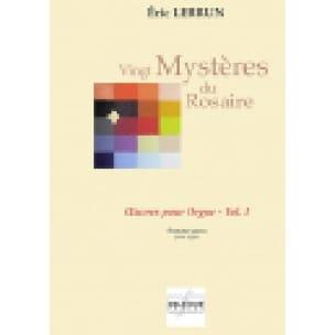 Vingt Mystères Du Rosaire - Volume 1 - Eric Lebrun - laflutedepan.com