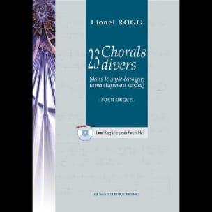23 Chorals Divers - Lionel Rogg - Partition - Orgue - laflutedepan.com