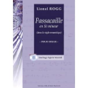 Passacaille En Si Mineur - Lionel Rogg - Partition - laflutedepan.com