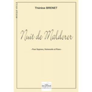 Nuit de Maldoror - Thérèse Brenet - Partition - laflutedepan.com