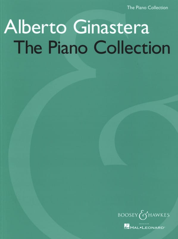 Alberto Ginastera - The Piano Collection - Partition - di-arezzo.co.uk