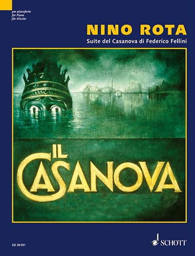 Nino Rota - Suite Del Casanova Di Federico Fellini - Partition - di-arezzo.co.uk