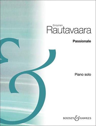 Passionale - Einojuhani Rautavaara - Partition - laflutedepan.com