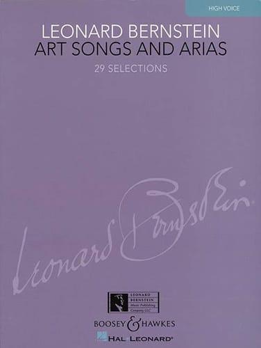Leonard Bernstein - アートソングとアリア。高い声 - Partition - di-arezzo.jp