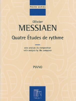 Olivier Messiaen - 4 Rhythm Studies - Partition - di-arezzo.co.uk
