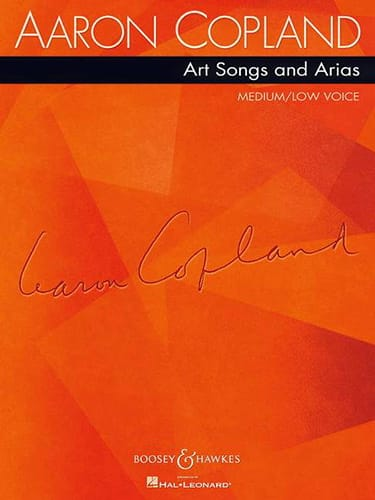 Art Songs And Arias - Medium / Low Voice - COPLAND - laflutedepan.com
