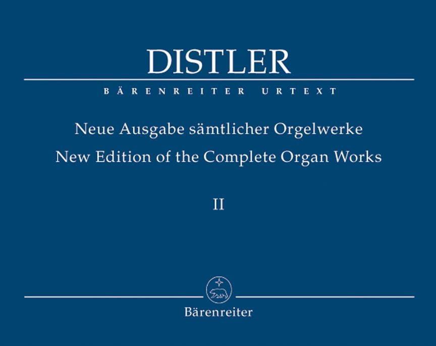 Neue Ausgabe Sämtlicher Orgelwerke Volume 2 - laflutedepan.com