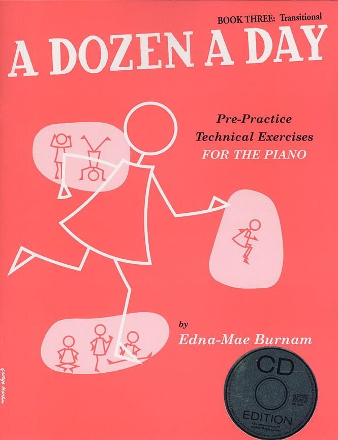 A Dozen A Day Volume 3 - en anglais avec CD - laflutedepan.com
