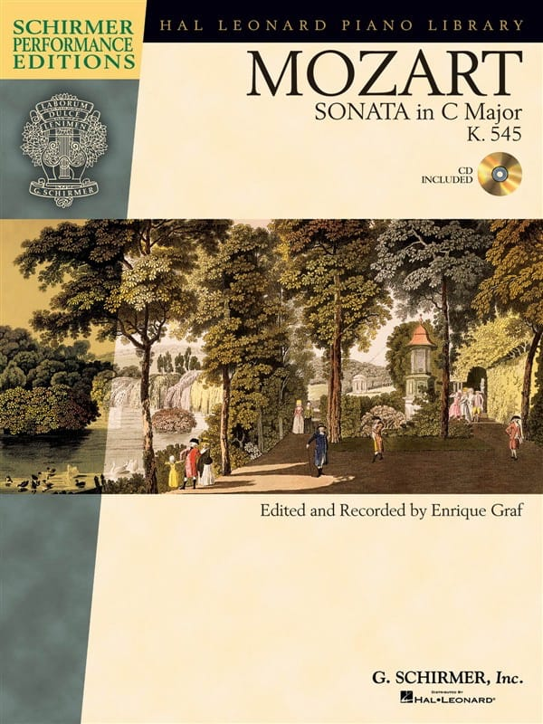 Sonate En Do Majeur K 545 - MOZART - Partition - laflutedepan.com