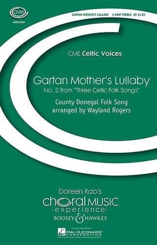 Gartan Mother's Lullaby - Rogers / Wayland - laflutedepan.com