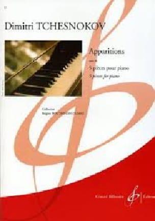 Apparitions Op. 26 - Dimitri Tchesnokov - Partition - laflutedepan.com