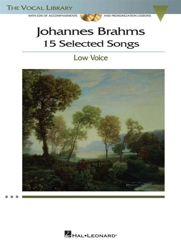 BRAHMS - 15 Selected Songs. Deep voice - Partition - di-arezzo.com