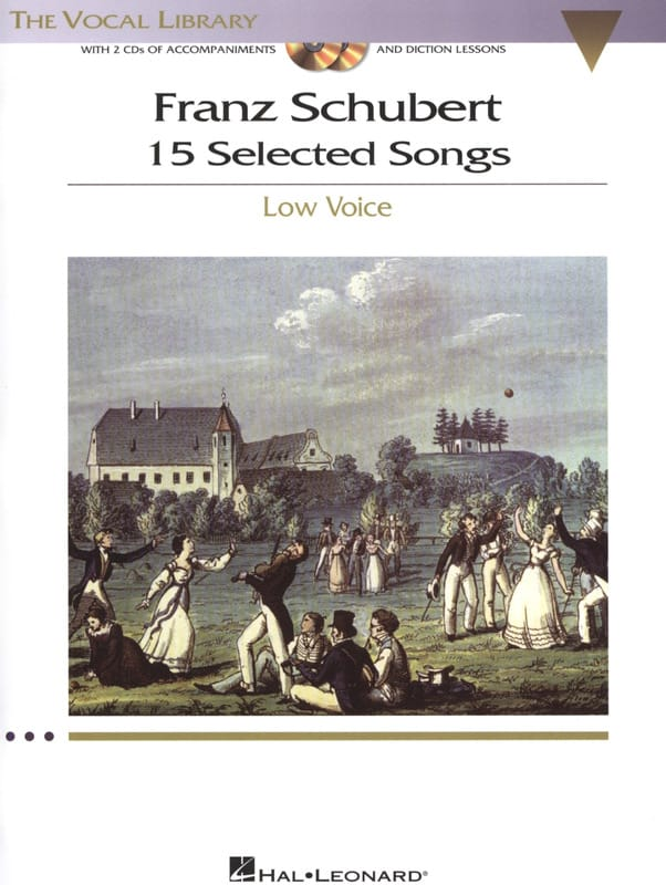 SCHUBERT - 15 Selected Songs. Voix Grave - Partition - di-arezzo.fr
