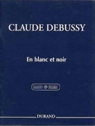 DEBUSSY - In White and Black. 2 Pianos - Partition - di-arezzo.co.uk