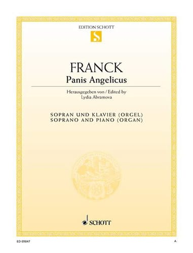 Panis Angelicus. Voix Haute - FRANCK - Partition - laflutedepan.com