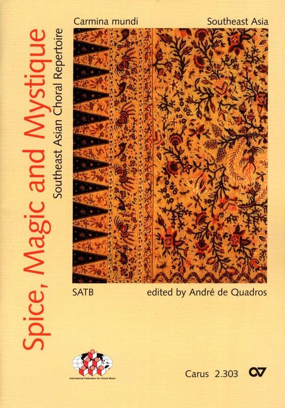 Spice, Magic And Mystique - Partition - Chœur - laflutedepan.com
