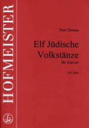 11 Jüdische Volkstânze - Paul Dessau - Partition - laflutedepan.com