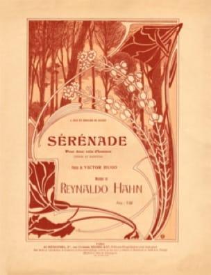 Sérénade - Reynaldo Hahn - Partition - laflutedepan.com