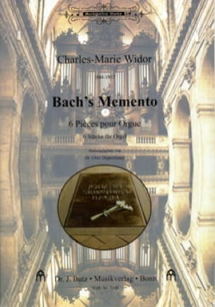 Charles-Marie Widor - Bach's Memento - Partition - di-arezzo.co.uk