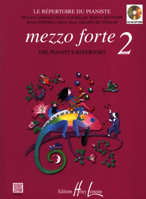 Mezzo Forte Volume 2 - Partition - Piano - laflutedepan.com