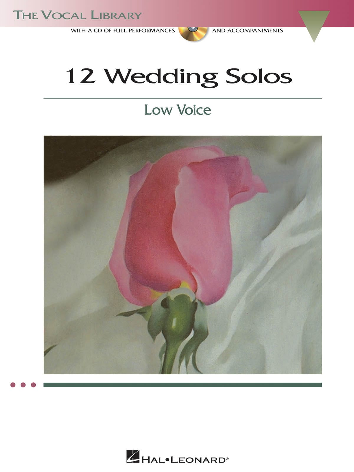 12 Weddings Solos. Voix Grave - Partition - laflutedepan.com