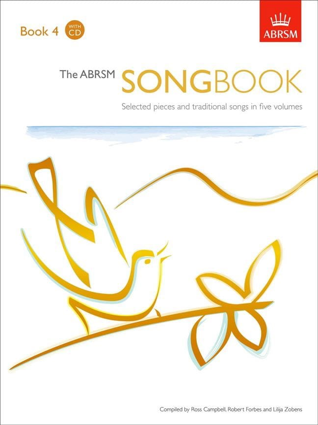The Abrsm Songbook Volume 4 - Partition - laflutedepan.com
