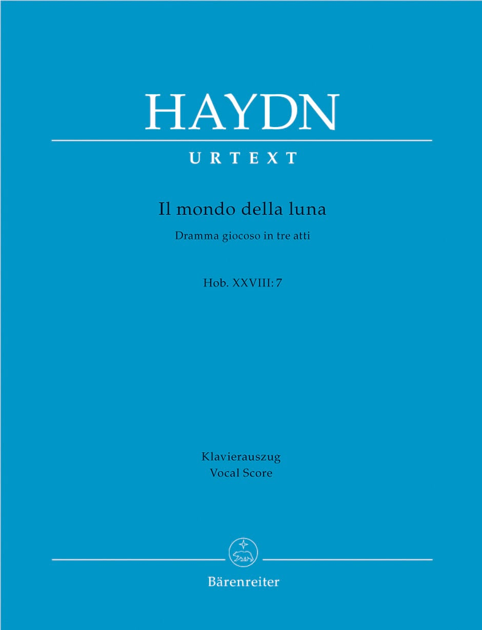 HAYDN - Il Mondo Della Luna HWV 28-7 - Partition - di-arezzo.fr