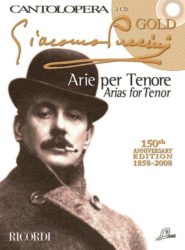 Arie Per Tenore + 2 CD - PUCCINI - Partition - laflutedepan.com