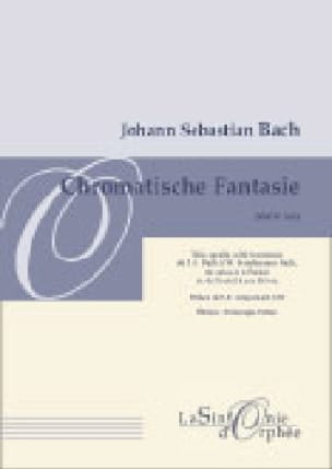 Fantaisie Chromatique et Fugue BWV 903 - BACH - laflutedepan.com